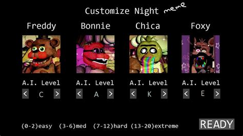 Customized Memes - for fun fnaf custom night meme by hungergames1226 on