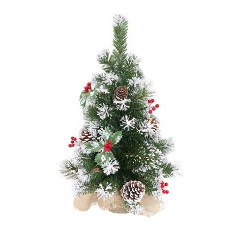 small decorated trees decorated artificial mini tree 60cm 3 styles