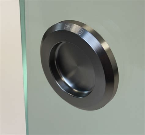h65 sa self adhesive flush pull for frameless glass doors