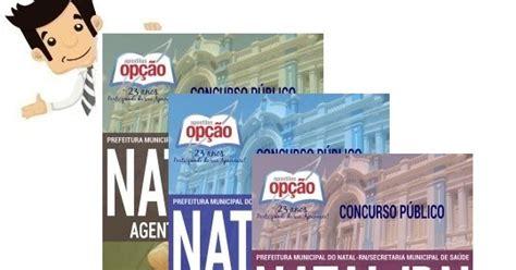 prefeitura municipal do natal rn comum aos cargos de focco apostilas e concursos apostilas do concurso natal