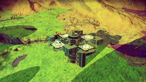 sky layout update no man s sky foundation update base tour and review