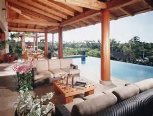 Lanai tropical patio hawaii by saint dizier design