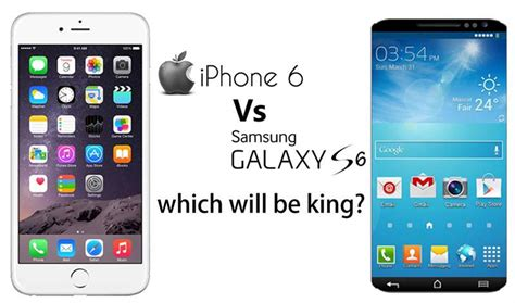 galaxy s6 vs iphone 6 how samsung is going to ruin apple s samsung rumors