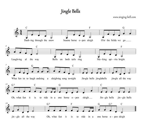 printable lyrics for jingle bells free christmas carols gt jingle bells free mp3 audio song