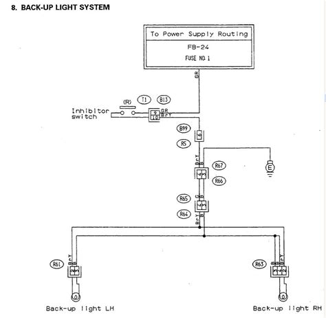 basic backup light wiring diagram vz fog light wiring