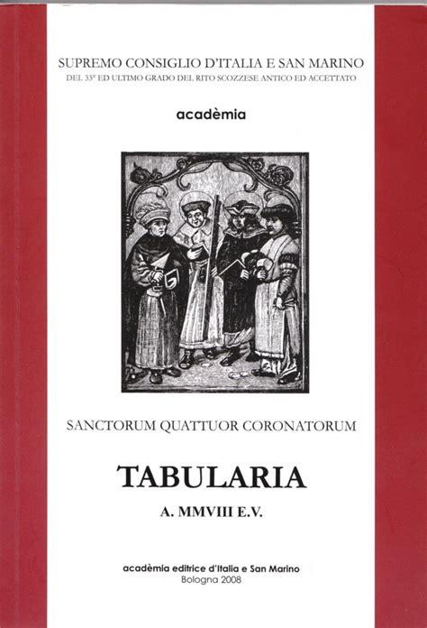 supremo consiglio d italia e san marino silvano danesi 187 tabularia