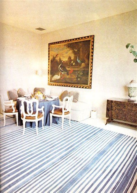billy baldwin interiors 1973 dining room via billy baldwin remembers us greats