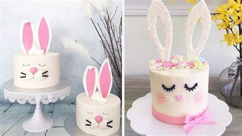 easter bunny cake easy diy cake decorating