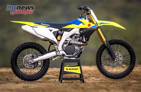 suzuki motocross massive upgrades to suzuki s 2018 rm z450 mcnews com au