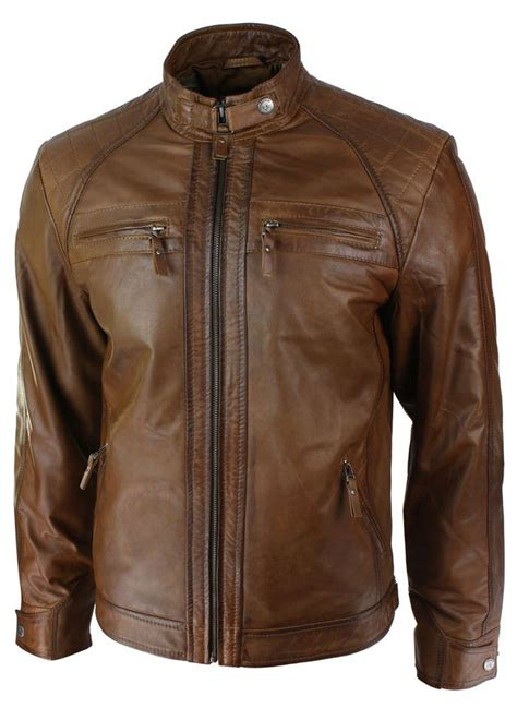 brown motorcycle jacket soft brown leather jacket fit jacket