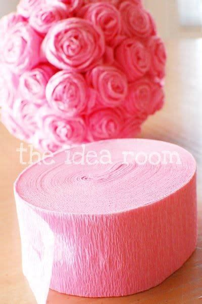How To Make Crepe Paper Decorations - 1000 ideas about crepe paper decorations on