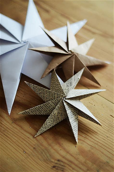 Folded Paper Ornament - all things paper ornament up
