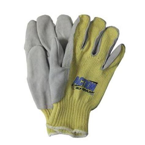 kevlar knit gloves cut resistant kevlar 174 knit side split leather glove