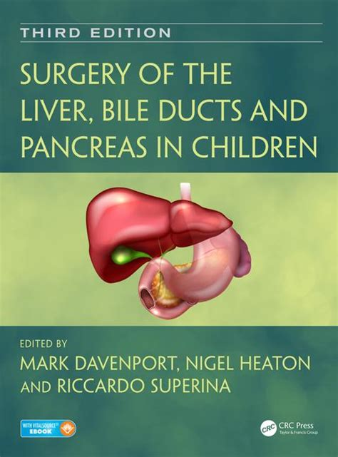 Books To Detox My Liver And Pancreas by Surgery Of The Liver Bile Ducts And Pancreas In Children