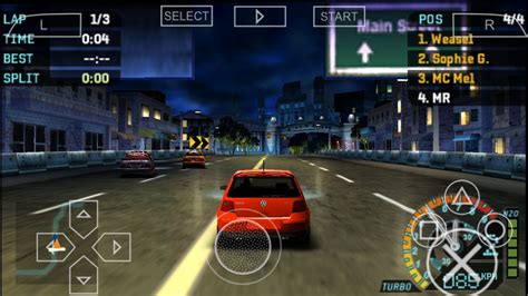 need for speed carbon apk descargar emulador psp juegos iso mega 2016