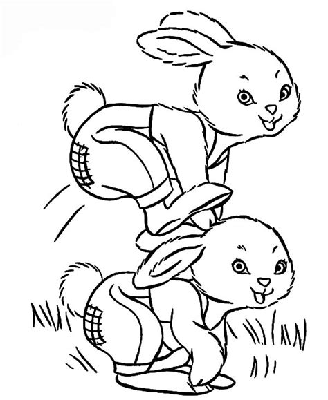 hopping bunny coloring page larry boy bunny doll in line coloring pages boy bunny