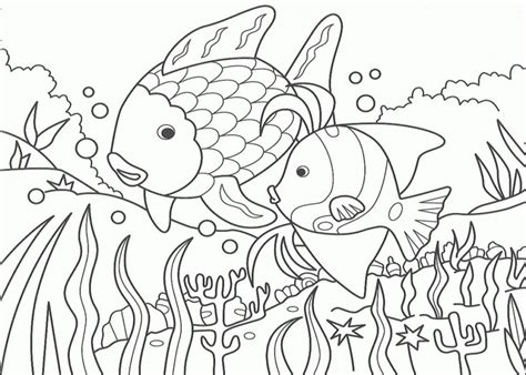 fisherman coloring page free printable coloring pages get this printable rainbow fish coloring sheets for kids