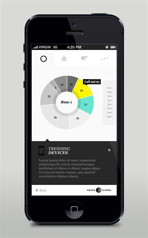 design html ui 30 recent inspirational ui exles in mobile device screens