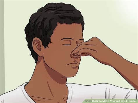 i feel light headed and of breath how to yourself light headed wikihow