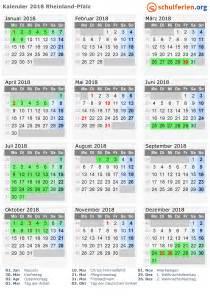 Kalender 2018 Zum Ausdrucken Mit Ferien Rlp Kalender 2018 Ferien Rheinland Pfalz Feiertage