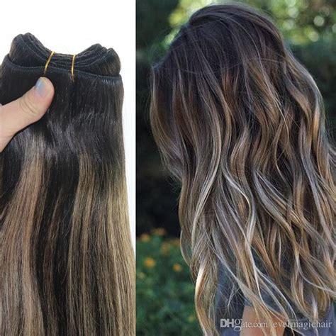 ombre weave hair st human hair weave ombre dye color brazilian virgin hair