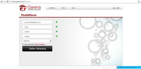 cara membuat pb garena baru cara mudah daftar akun baru pb garena indonesia