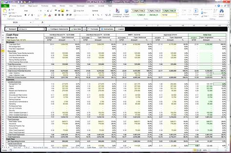 6 Cash Flow Template For Excel Exceltemplates Exceltemplates Discounted Flow Template
