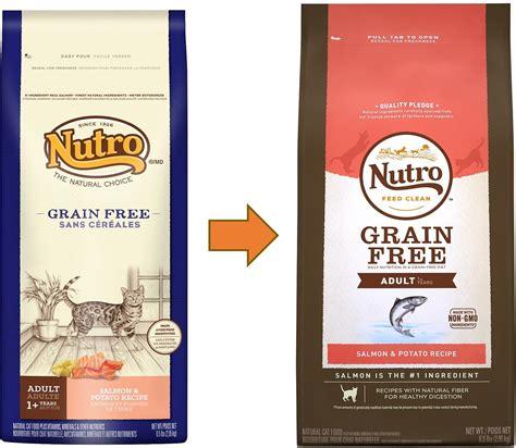 nutro grain free food nutro grain free salmon potato recipe cat food