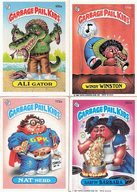 rarest and most expensive garbage pail kids cards ever made garbage pail kids kids cards and most expensive on pinterest