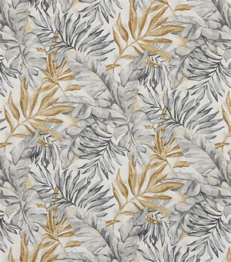 Robert Allen Home Decor Fabric by Home Decor Print Fabric Robert Allen Monsoon Leaf