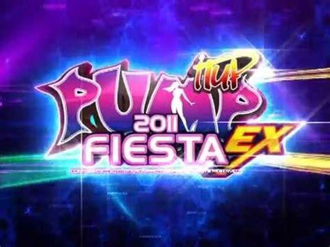 imagenes pump it up fiesta 2 pump it up fiesta ex intro youtube