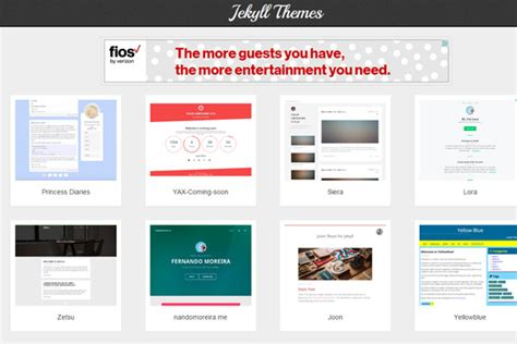 jekyll web themes comprehensive guide to static website generators designmodo