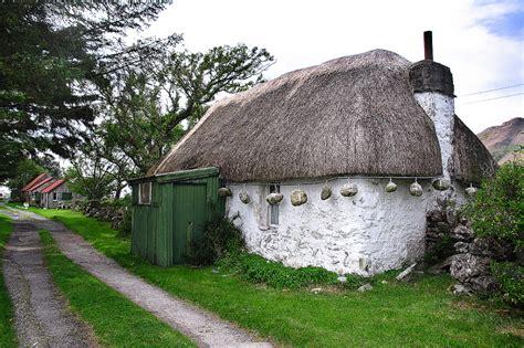 Rural Cottages Scotland by Scotland Thatched Cottage Landscape Rural Photos