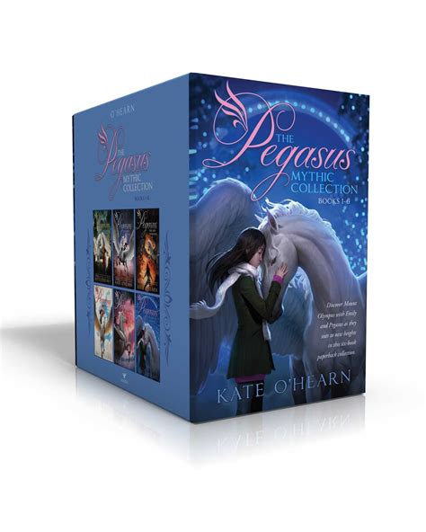 the pegasus mythic collection books 1 6 book by kate o