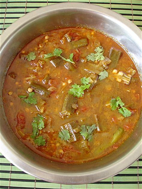Sailu Kitchen by Bendakaya Pulusu Recipe Bendi Curry Sulekha Creative