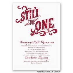wedding renewal invites uk still the one vow renewal invitation invitations by