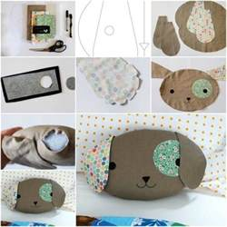 how to make puppy pillow step by step diy tutorial