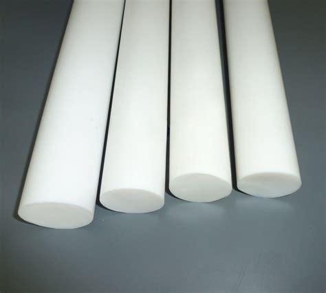 ptfe rod bar teflon white diameter