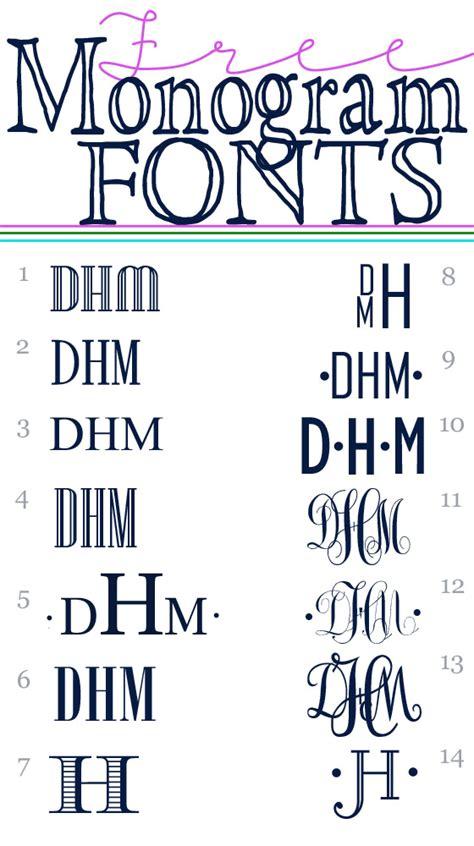printable fonts pinterest how to make a printable monogram to embellish decorative