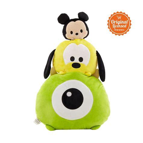 Disney Alas Tidur Bayi jual disney tsum tsum chus mickey pluto mike bantal