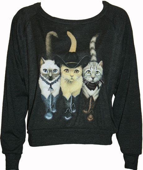 30054 Black White The Oversize S M L Casual Top Le150417 Import 308 best cat clothes sweatshirts images on