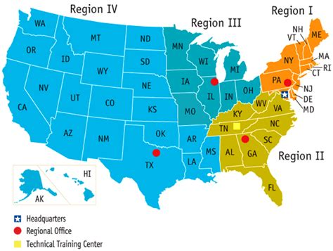 map of the united states broken down into regions nuclear america