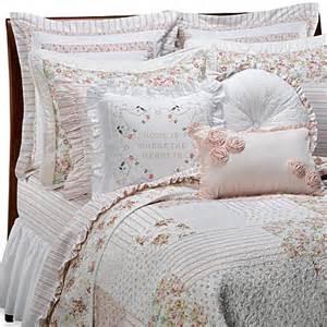 vintage chic cbell quilt 100 cotton bed bath beyond