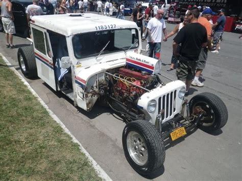 postal jeep rod rod mail truck 59791 baidata