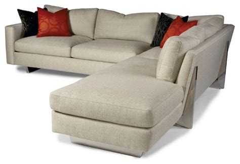 cool sectionals cool clip straight sectional from thayer coggin