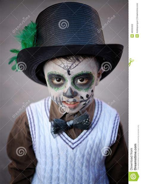 imagenes para pintar a un catrin muchacho con la cara pintada m 233 xico fotograf 237 a editorial