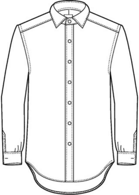 shirt pattern drawing technical drawing shirt google search flat spec