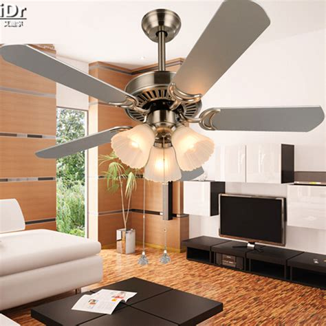 Ceiling Fan In Living Room Modern Minimalist Living Room Ceiling Fan Light Fan Lights Restaurant With A 42 Inch Rope