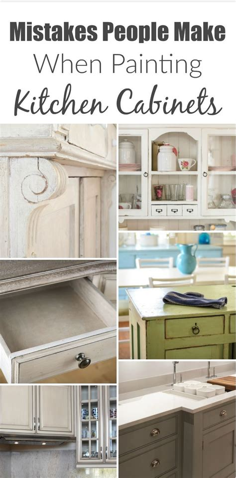 Kitchen Color Mistakes Mistakes Make When Painting Kitchen Cabinets Read