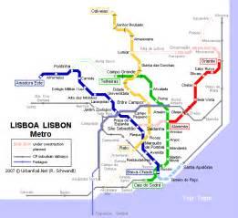 Lisbon Subway Map by Maps Sayfa 34 Mapofmap1